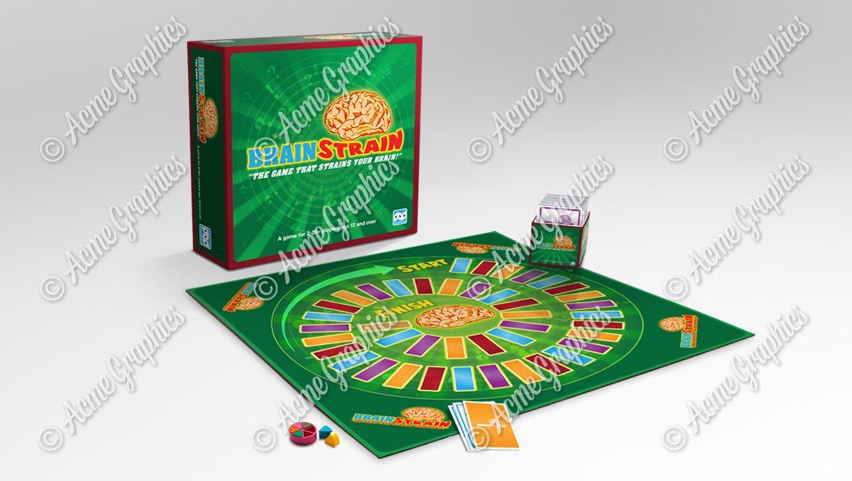 Board game mock up