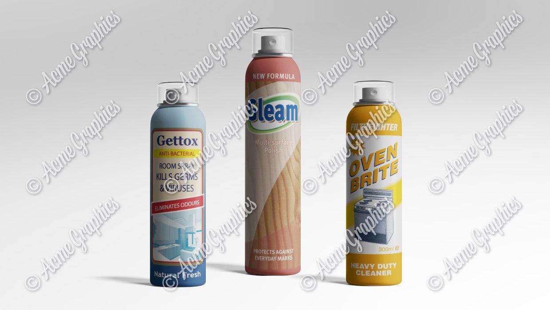 Cleaning-sprays