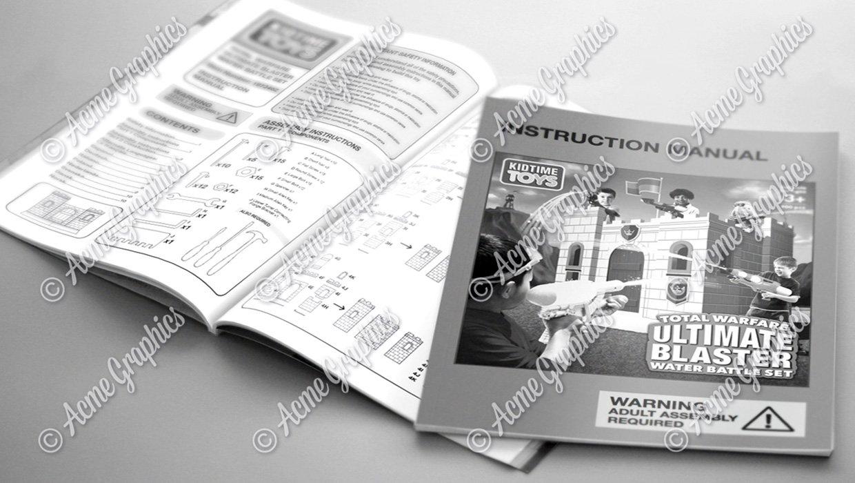 Ultimate blaster game instruction manual