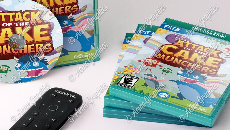 Cake munchers video game