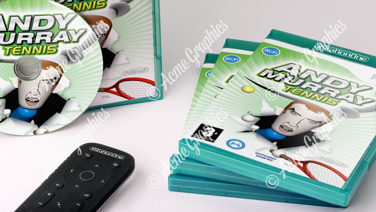 Andy Murray video game