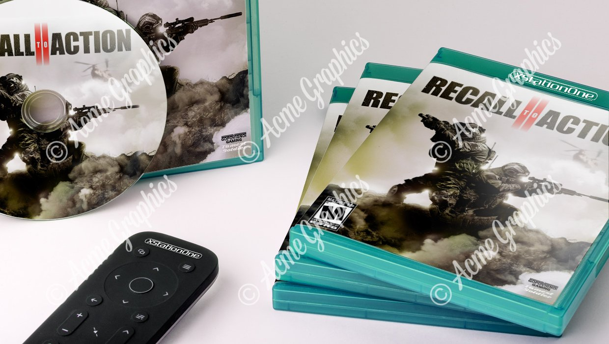Recall to action video game