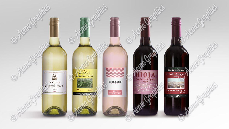 Assorted wine props
