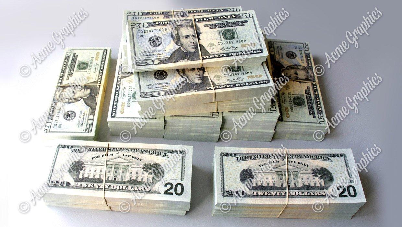 20 dollar stacks