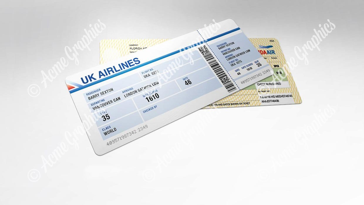 Airline tickets 2