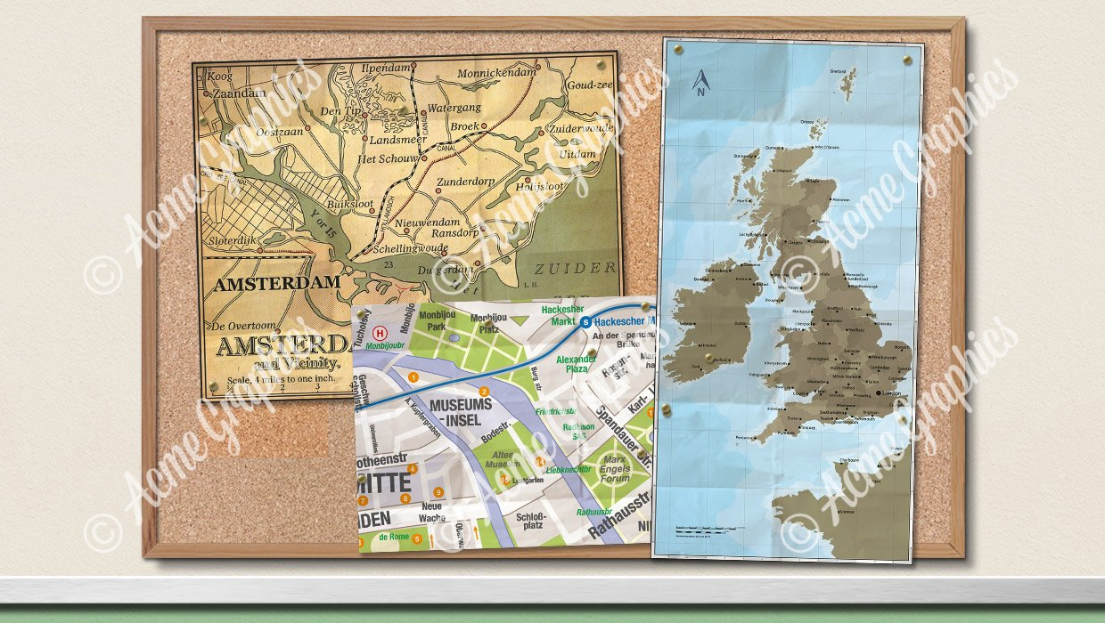 Assorted maps