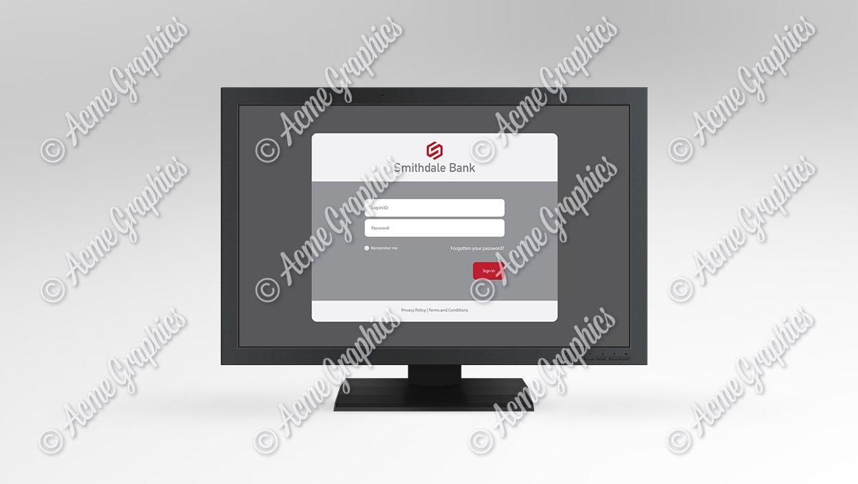 Bank-login-screen
