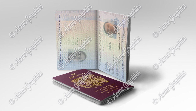 Prop UK Passport