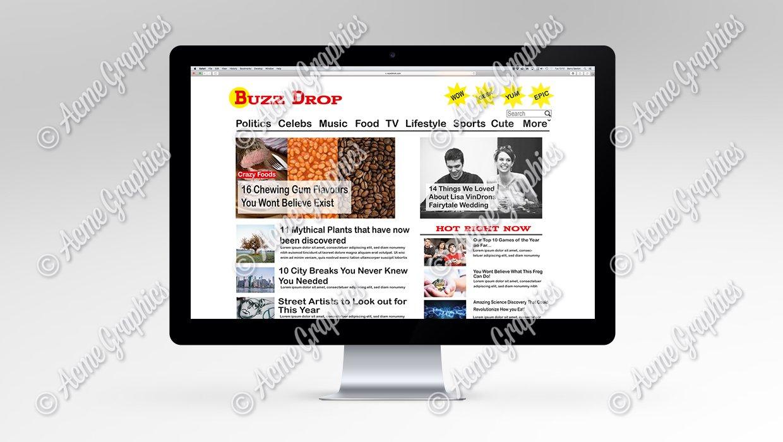 Buzz-drop-website