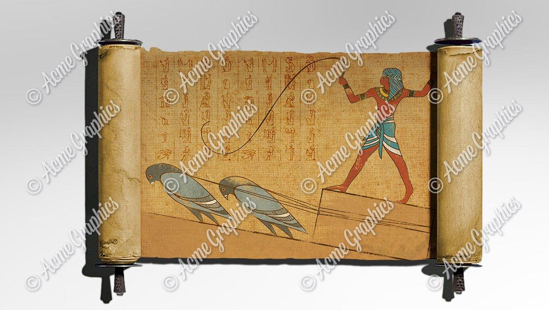 Egyptian-parchment