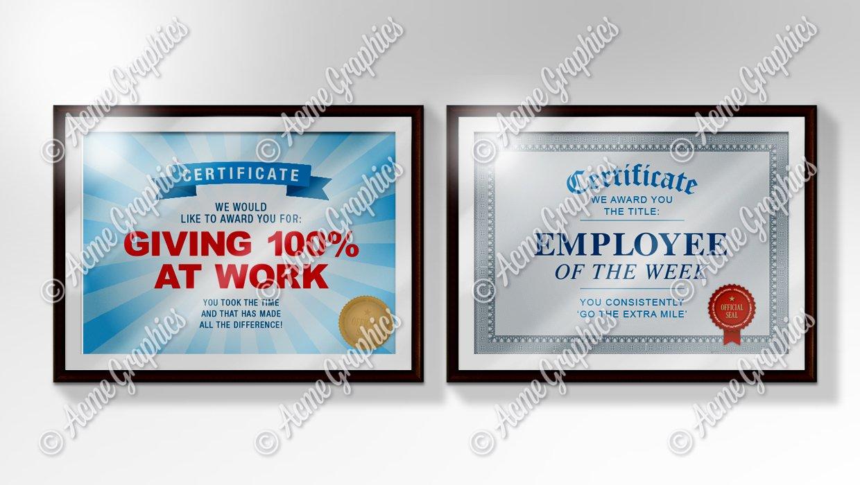 Employee-certificates