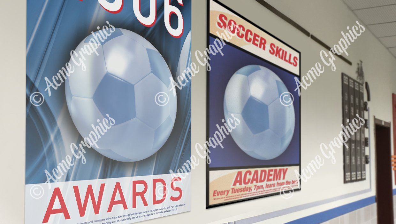 School football posters