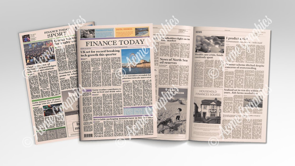 FT style newspapers