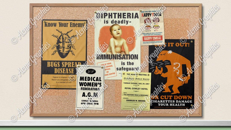 Hospital-poster-60s-mock-up