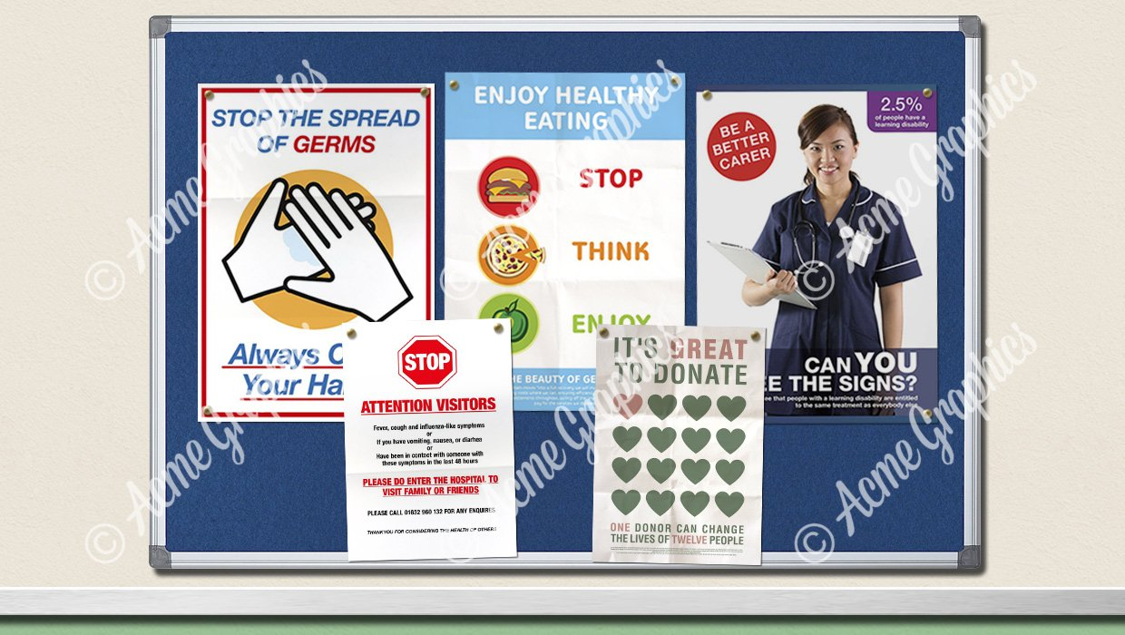 Hospital poster collection