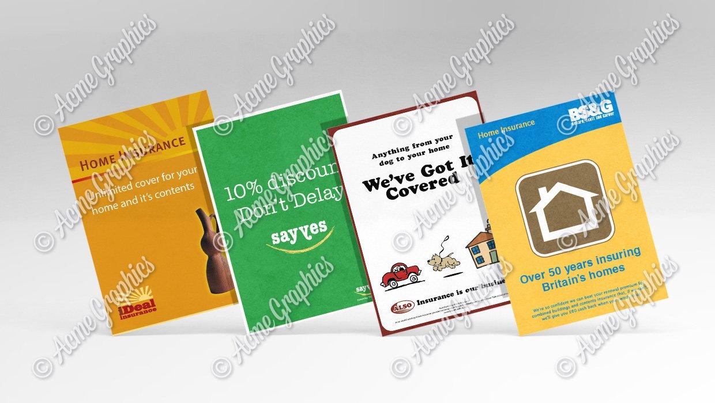 Insurance leaflets 2
