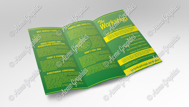 Job centre leaflet