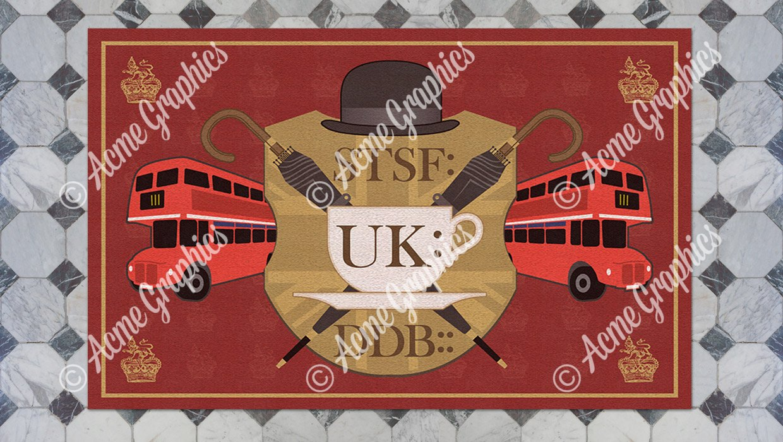 London England Rug