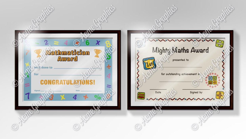 Maths-certificates