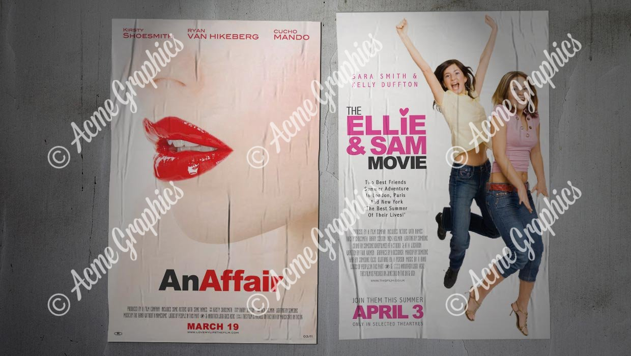 chick flick posters