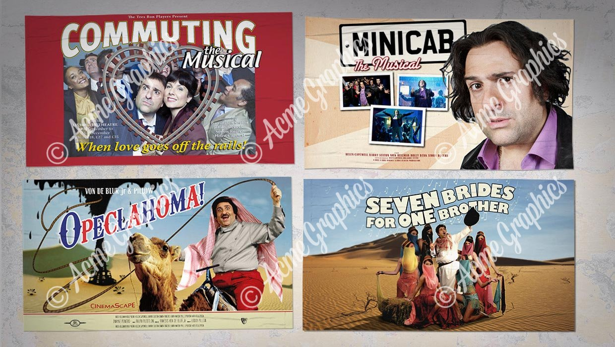 Musical folm posters