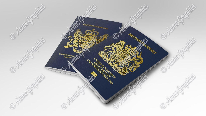 new british passport 2020 plus fictional version