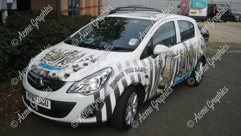 Newcastle car