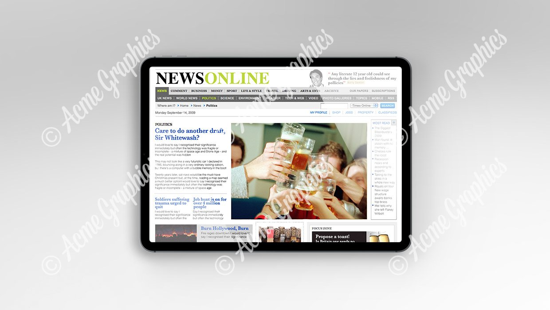 News-online-mockup