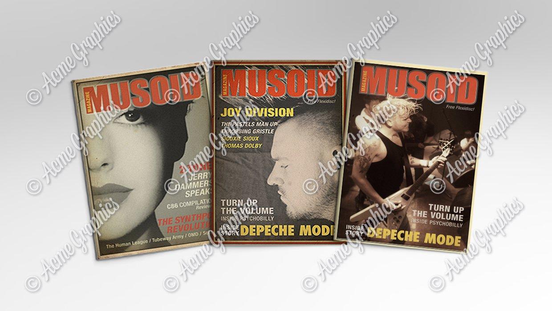 Musoid period magazines