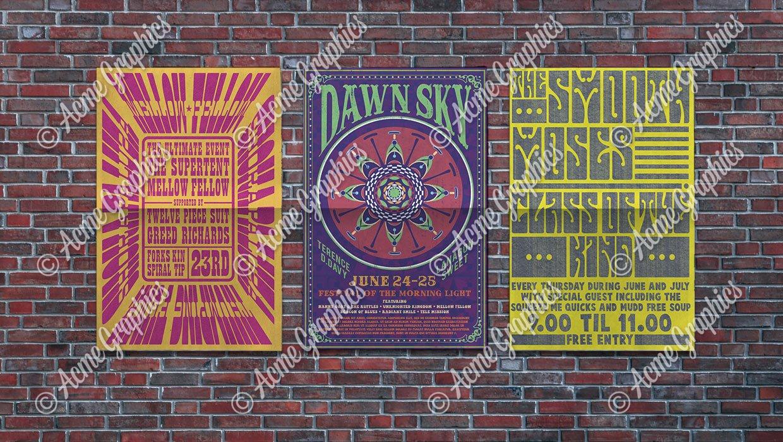 Psychadelic posters