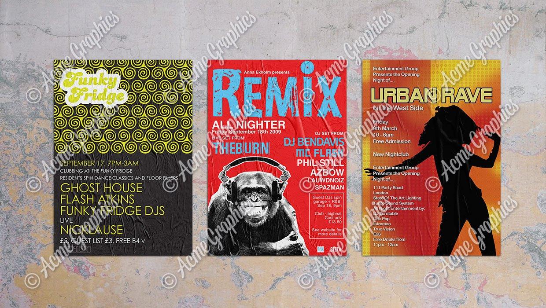 Nightclub poster 2