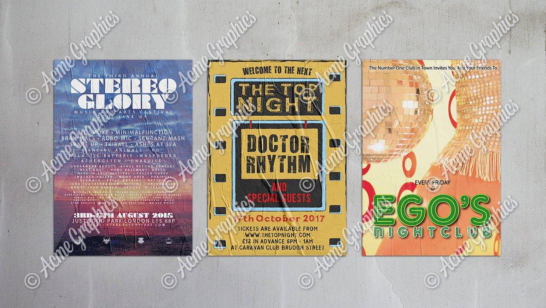 Posters-Nightclub-C