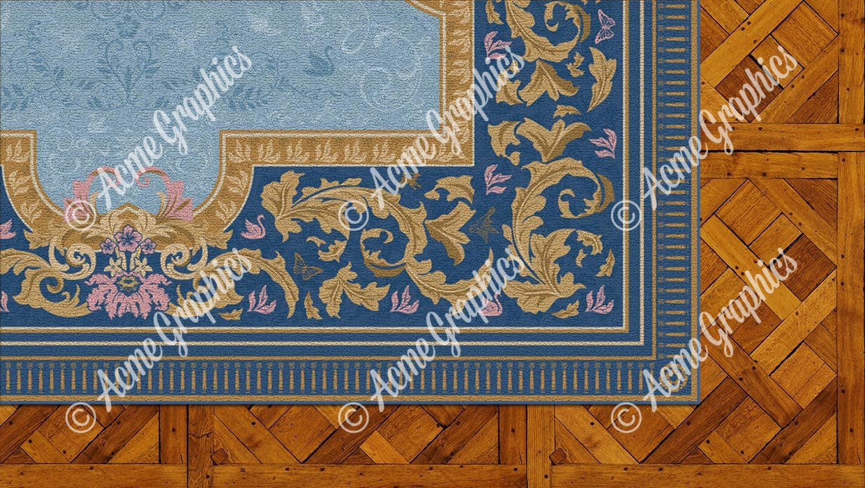 Royals rug detail