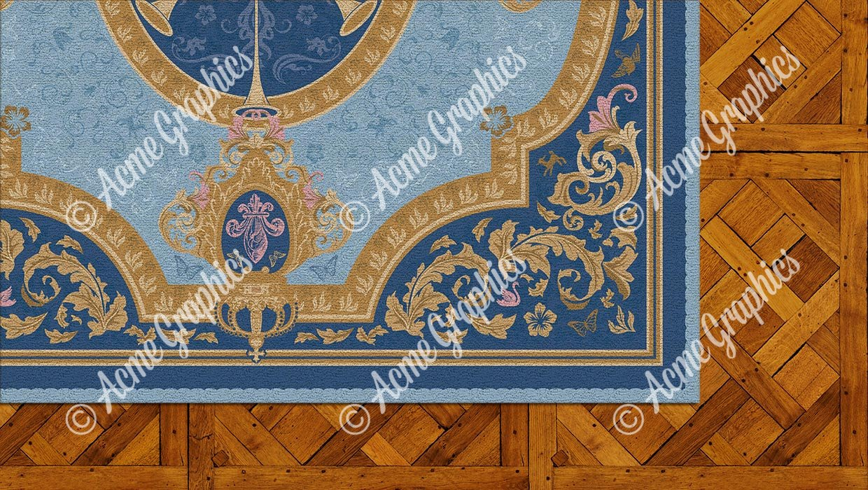 Royals rug detail 2