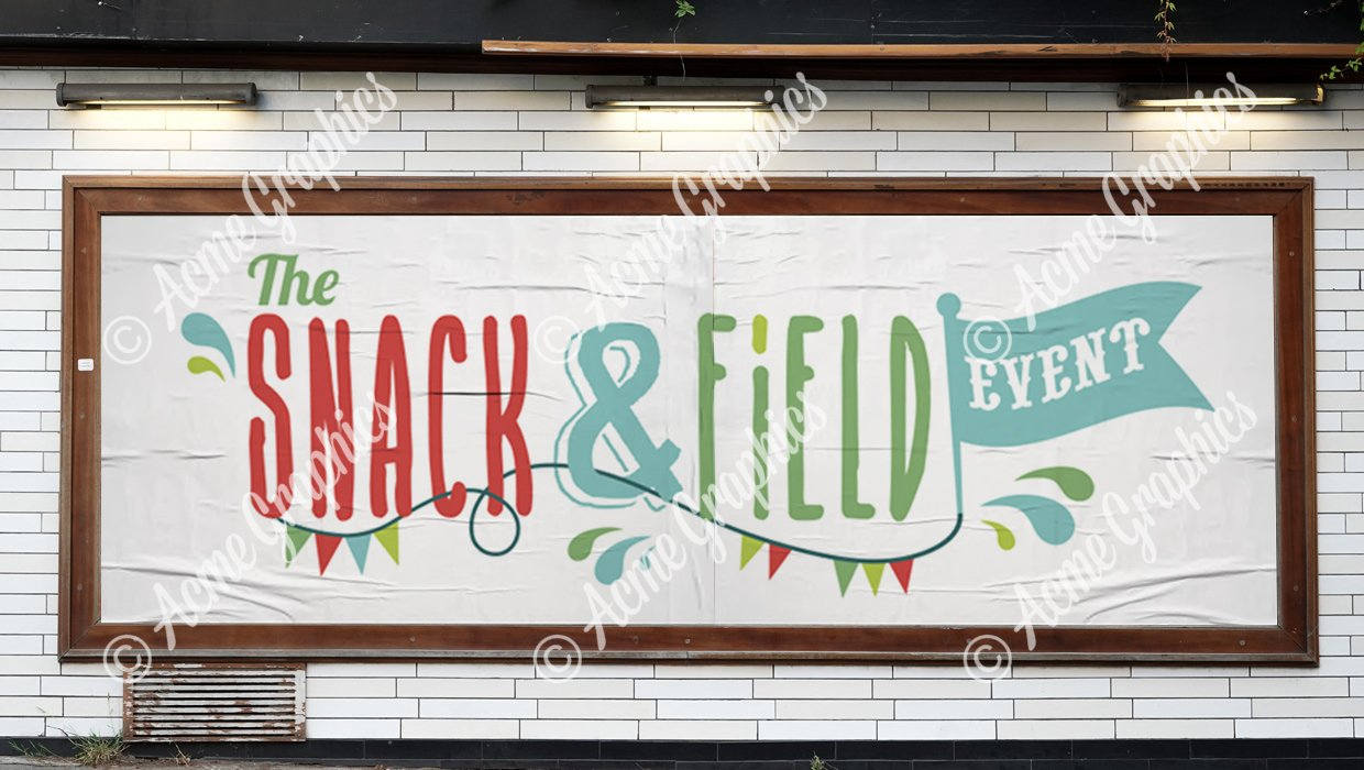 Snack-and-field-sign