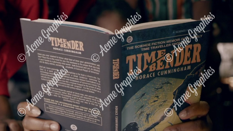 Timebenders book shot