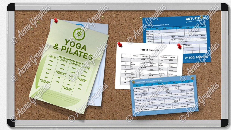 timetable mock