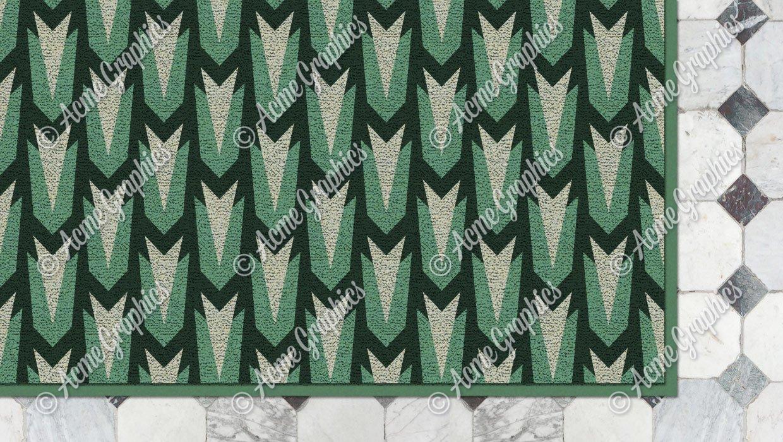 Wes Anderson train carpet
