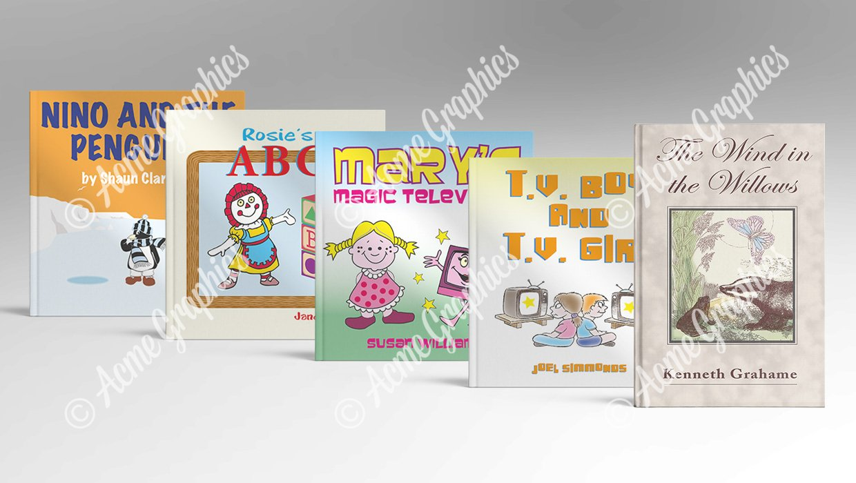 Childrens books selection
