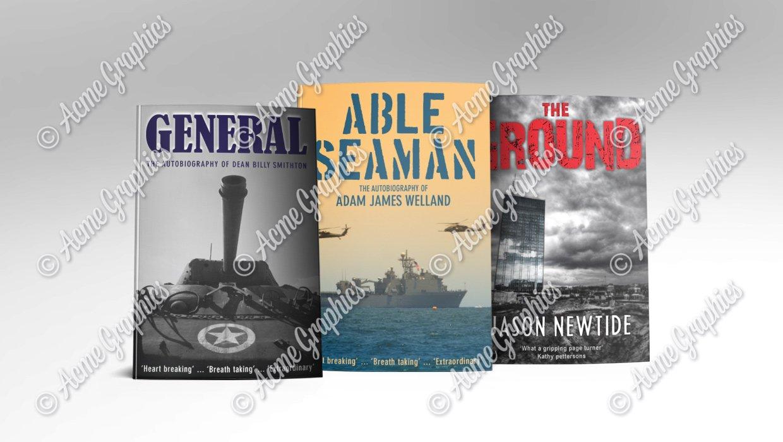 Modern novel bok covers