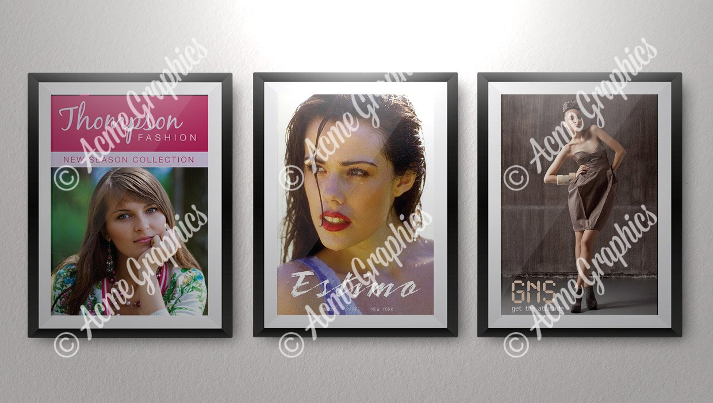 Fashion posters