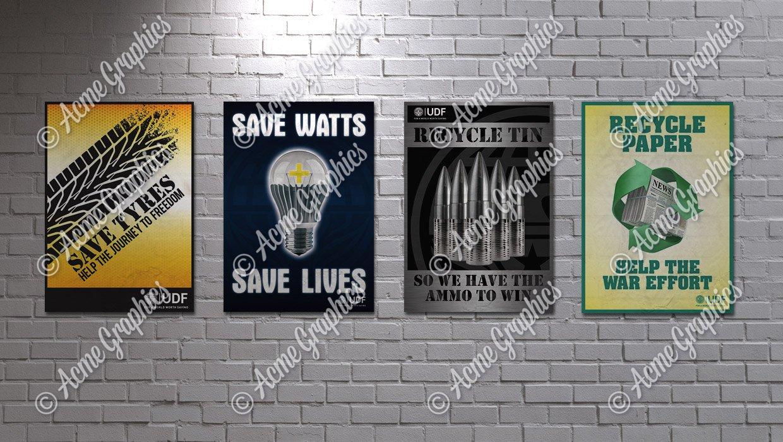 Propoganda Recycle posters