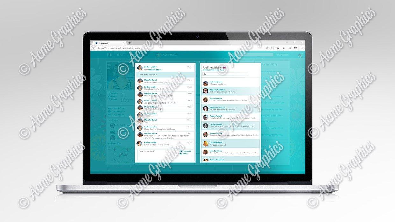 Friendsweb social media website