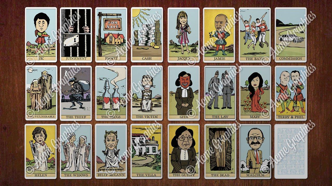 Tarot Cards set