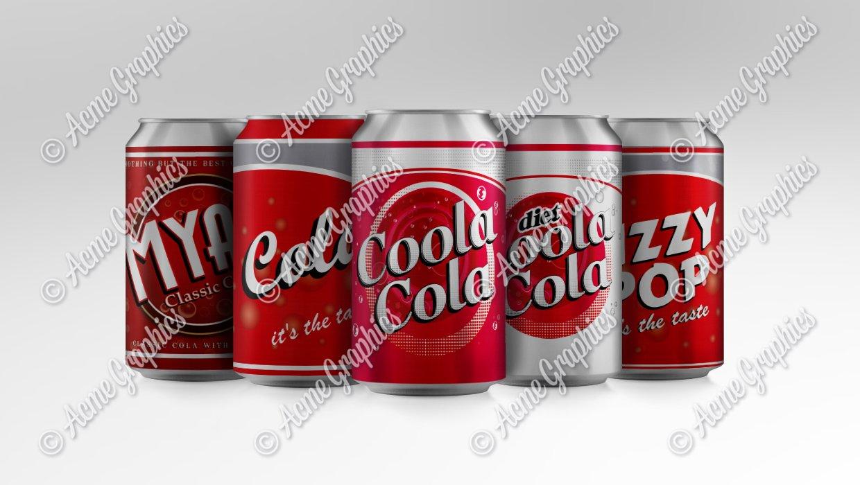 Coke cans mock up 3 1240 x 700