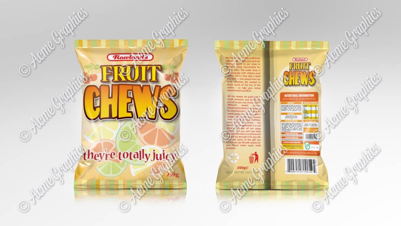 Fruit chews