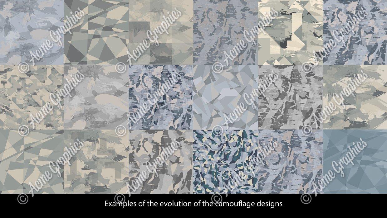 Outside the wire camo design evolution