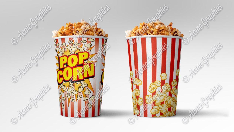 Popcorn packaging design