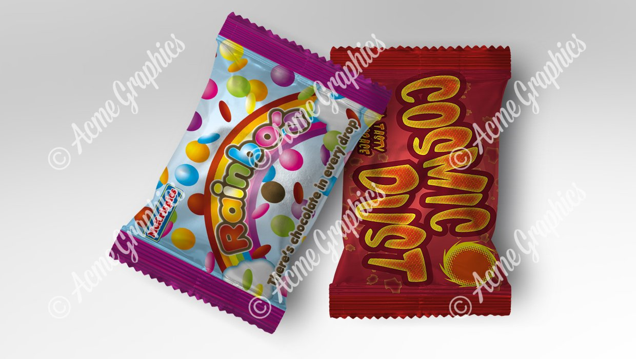 Sweet packets small