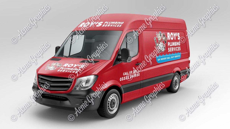 Van-mock-up-plumber